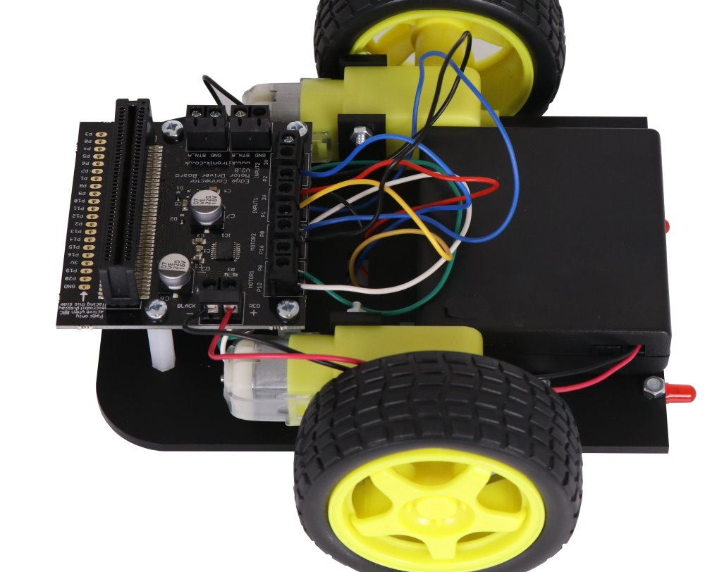 On The Move With microbit Case & Accessories Options motor drive