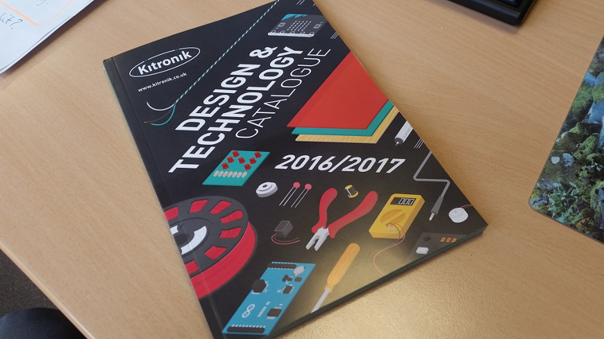 Now Available To Order At Kitronik Catalogue 2016 - 2017-870