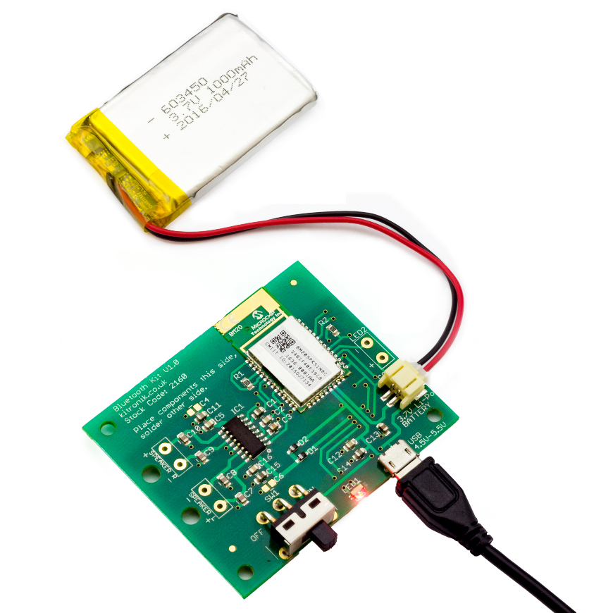 2160_Bluetooth Amplifier Kit_connected
