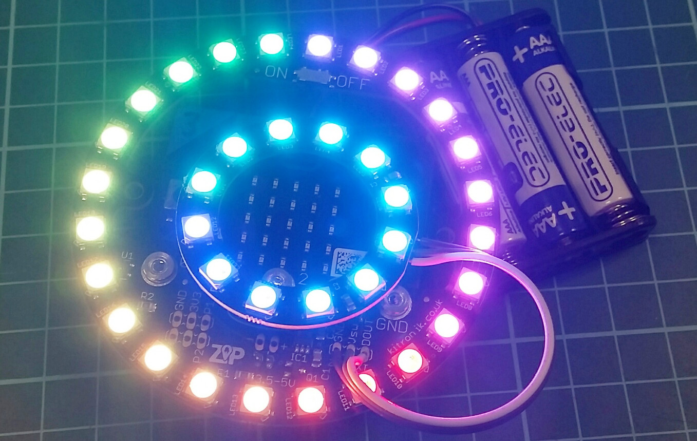 adding-extrra-zip-leds-halo-lit-one