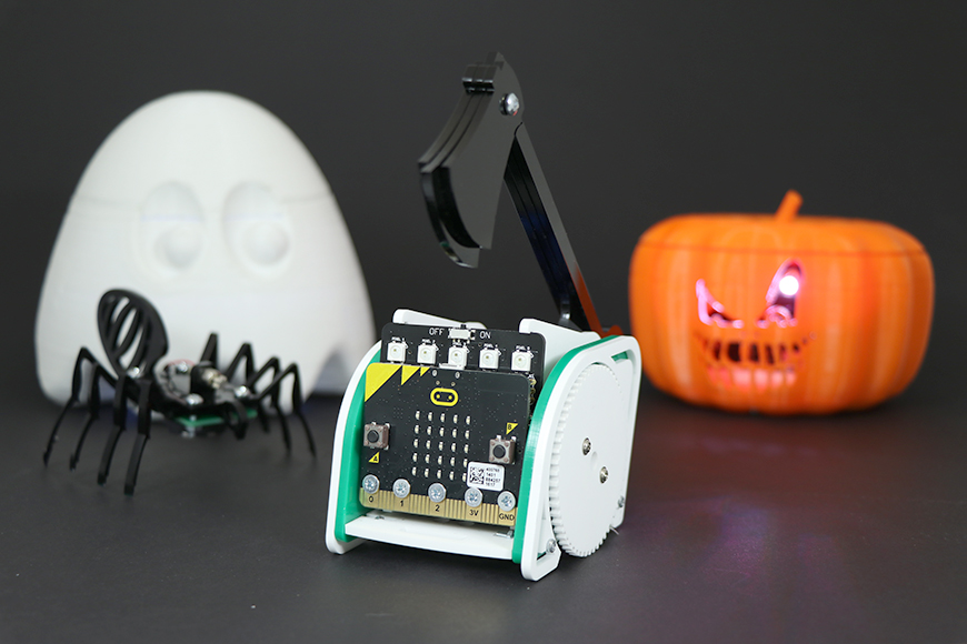 pumpkin halloween microbit move mini 3