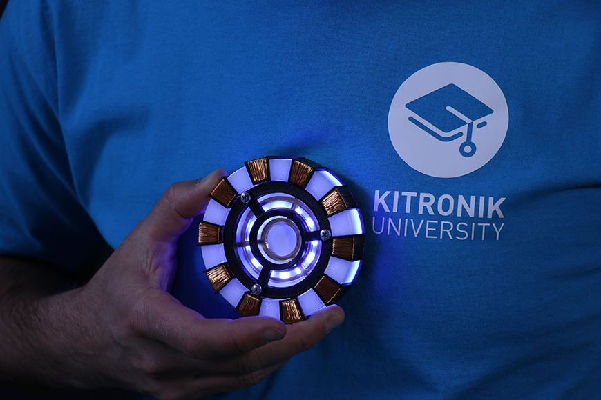 zip halo ironman arc reactor