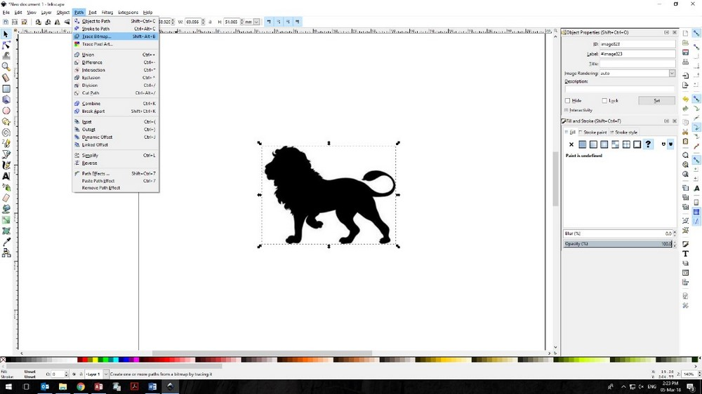 Laser Cut Animals basic-laser-perspex-sheet-animals-lion-inkscape-1000