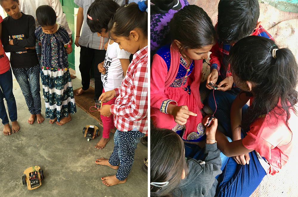 microbit Goes To Rural India clubs
