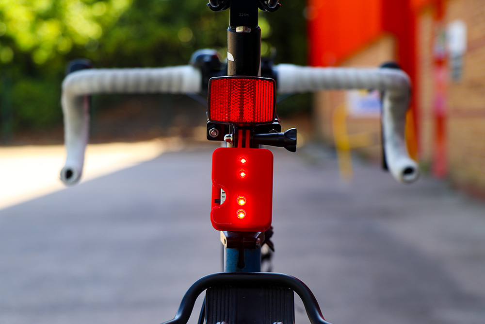 Free 3D Printed Deluxe Rear Bike Light Cases yard