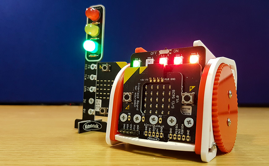 Using MicroPython With Kitronik BBC micro:bit Products stop:bit