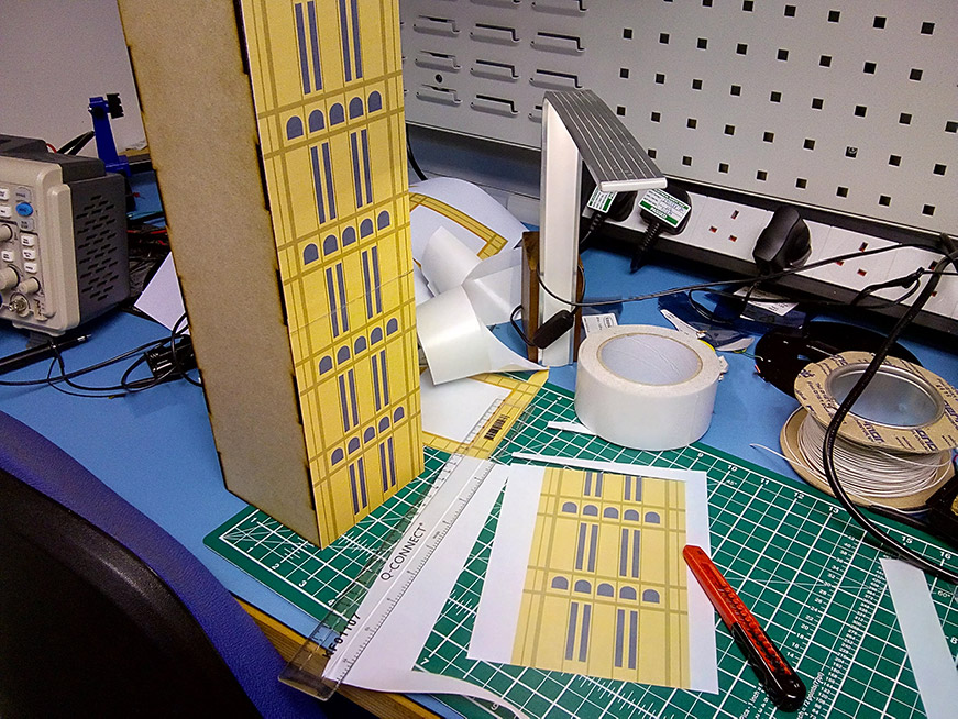 microbit kitronik :city big ben artwork