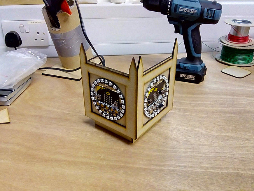 microbit kitronik :city big ben clockface