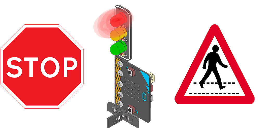Teachers Lesson Plans For STOP:bit For microbit traffic light and pedestrian crossing