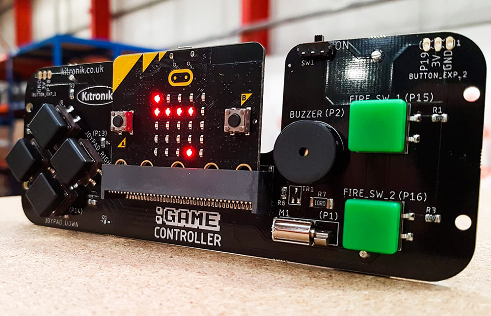 microbit Games - Controlling Movement On The LED Matrix game controller warehouse