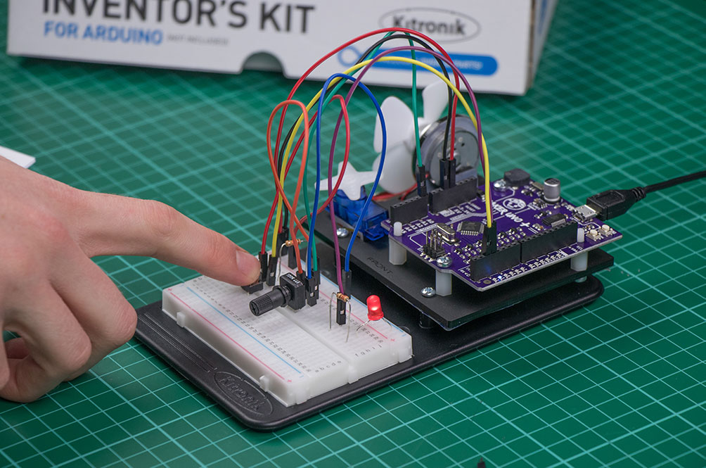 Extra Resources For The Kitronik Inventors Kit For Arduino
