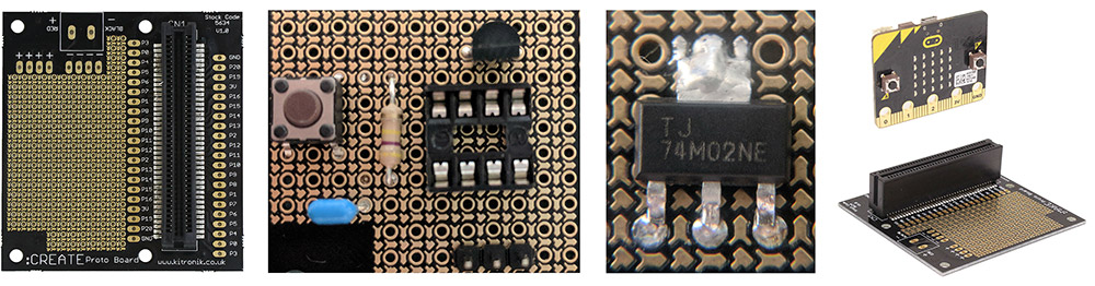 On The Move With microbit Case & Accessories Options create proto
