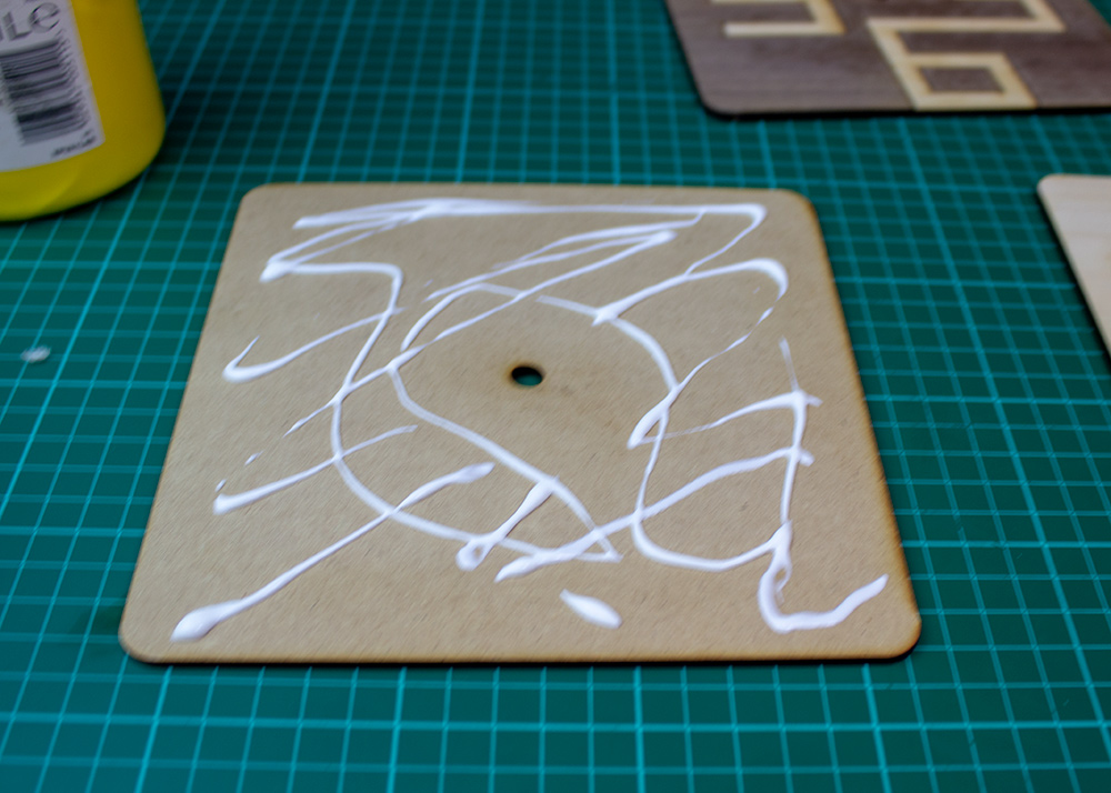 Stylish and Simple Clock Designs for Your Laser Cutter more glue
