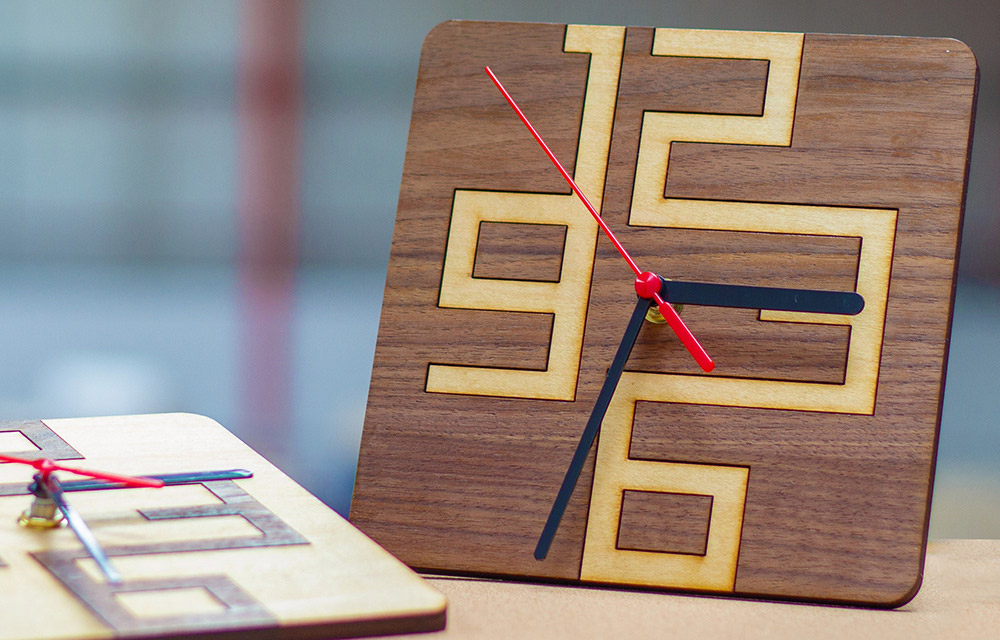 Stylish and Simple Clock Designs for Your Laser Cutter main
