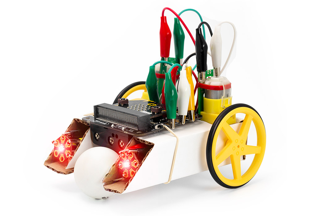 Adding ZIP Hex LEDs To The Simple Robotics Buggy Kit 0