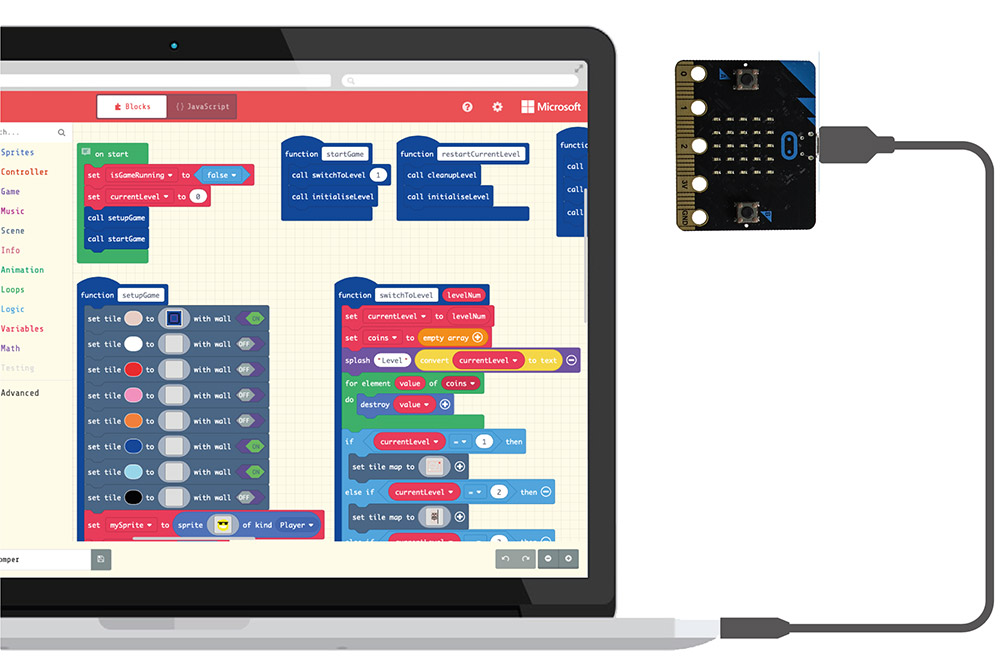 The microbit User Guide For Absolute Beginners connect